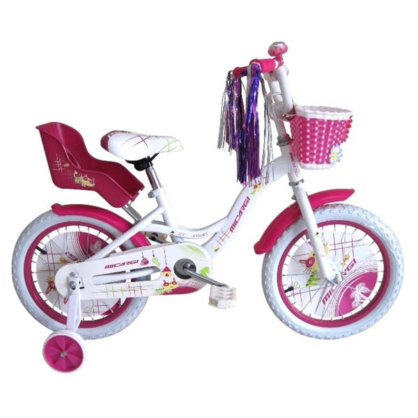 Micargi 16-inch Girl White Bicycle Avery BMX