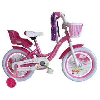 Micargi 16-inch Girl Pink Bicycle Avery BMX