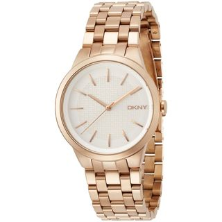 DKNY Women's NY2383 'Park Slope' Rose-Tone Stainless Steel Watch