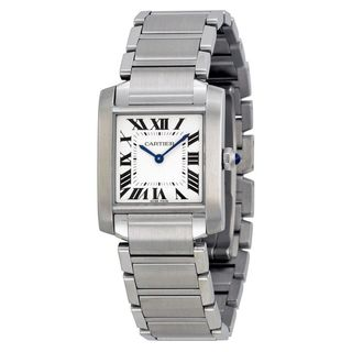 Link to Cartier Women's WSTA0005 'Tank Francaise' Stainless Steel Watch Similar Items in Men's Watches