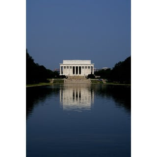 Wall Decor Prints 'Lincoln Memorial' Print Wall Art