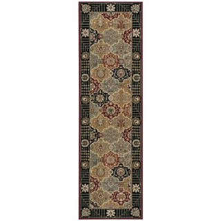 Rug Squared Sussex Black Runner Rug (2'2 x 7'6)