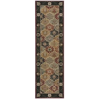 Rug Squared Sussex Black Runner Rug (2'2 x 8'4)