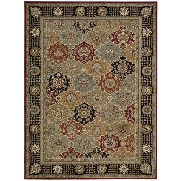 Rug Squared Sussex Black Rug (3'9 x 5'9)