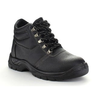 J'S AWAKE DAVID-93 Men's Comfort Lace Up Stitching Detail Tactical Oxford