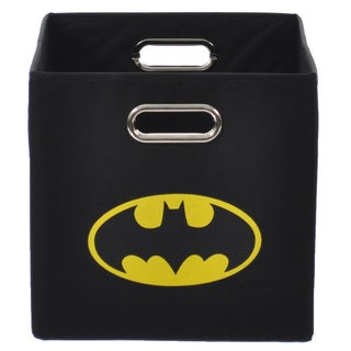 Batman Logo Black Folding Storage Bin