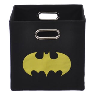 Batman Shield Black Folding Storage Bin