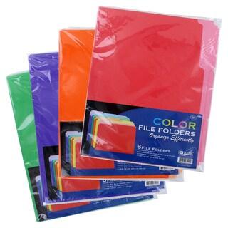 Bazic 1/3 Cut Letter Size Colored File Folder