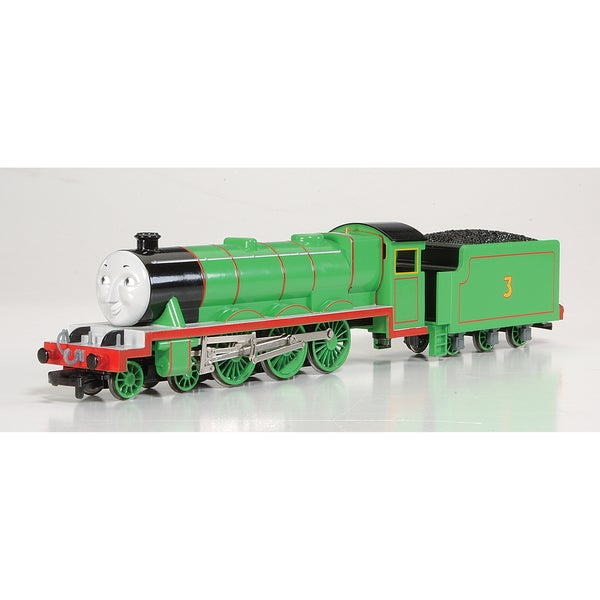 Bachmann Trains Thomas and Friends Henry The Green Engine Locomotive with Moving Eyes- HO Scale Train