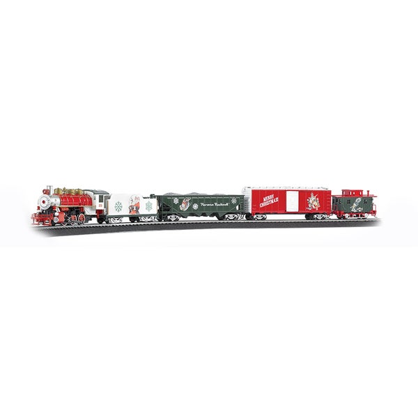 Bachmann Trains A Norman Rockwell Christmas Train - HO Scale Ready To Run Electric Train Set