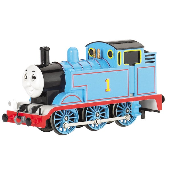 Bachmann Trains Thomas and Friends Thomas The Tank Engine Locomotive with Analog Sound and Moving Eyes- HO Scale Train