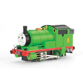 Bachmann Trains Thomas and Friends Percy The Small Engine Locomotive with Moving Eyes- HO Scale Train