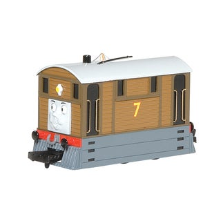 Bachmann Trains Thomas and Friends Toby The Tram Engine Locomotive with Moving Eyes- HO Scale Train