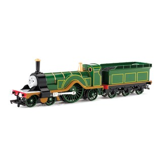 Bachmann Trains Thomas and Friends Emily Locomotive with Moving Eyes- HO Scale Train
