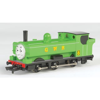 Bachmann Trains Thomas and Friends Duck Locomotive With Moving Eyes- HO Scale Train
