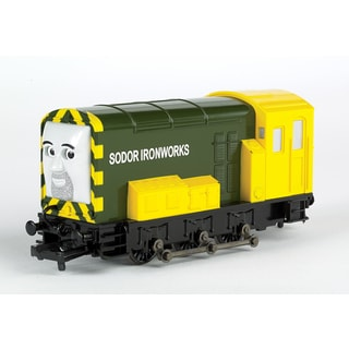 Bachmann Trains Thomas and Friends Iron Bert Locomotive With Moving Eyes- HO Scale Train