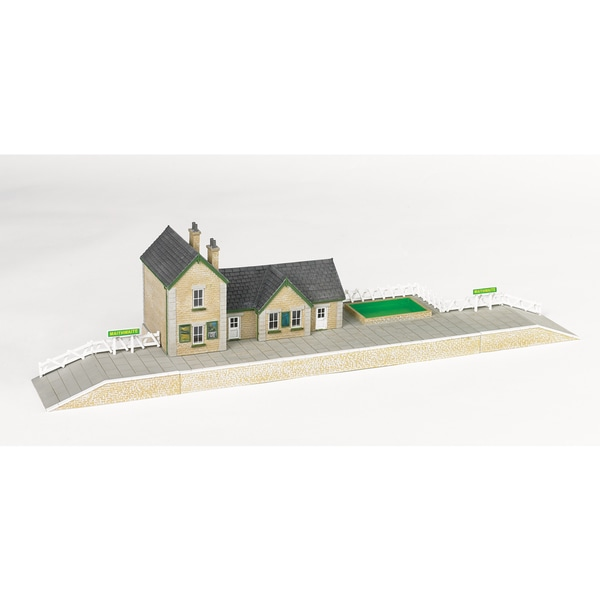 Bachmann Trains Thomas and Friends Maithwaite Station Resin Building Scenery Item- HO Scale