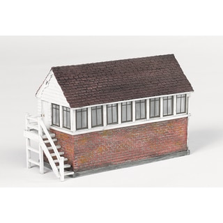 Bachmann Trains Thomas and Friends Signal Box Resin Building Scenery Item- HO Scale
