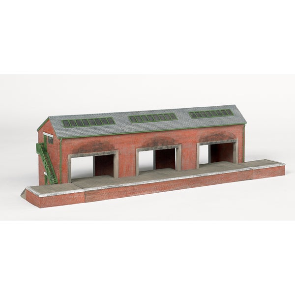 Bachmann Trains Thomas and Friends Brendam Warehouse Resin Building Scenery Item- HO Scale