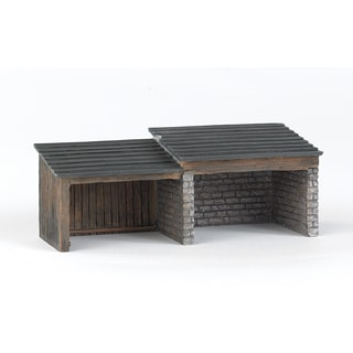 Bachmann Trains Thomas and Friends Storage Shed Resin Building Scenery Item- HO Scale