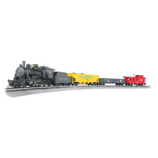 Bachmann Trains Echo Valley Express - HO Scale Ready To Run Electric Train Set With Sound Value Equipped Locomotive