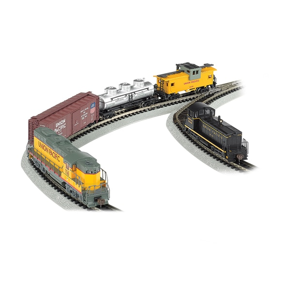 Bachmann Trains Golden Spike - N Scale Ready To Run Electric Train Set With Digital Command Control