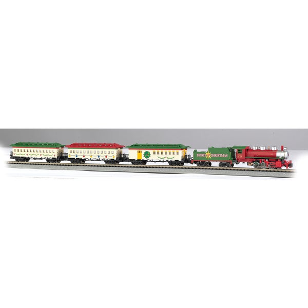 Bachmann Trains Spirit Of Christmas Ready To Run Electric Train Set