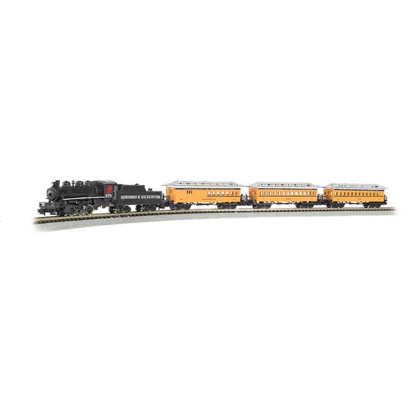Bachmann Trains Durango & Silverton - N Scale Ready To Run Electric Train Set