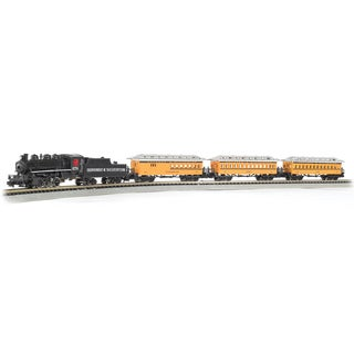 Bachmann Trains Durango & Silverton - N Scale Ready To Run Electric Train Set