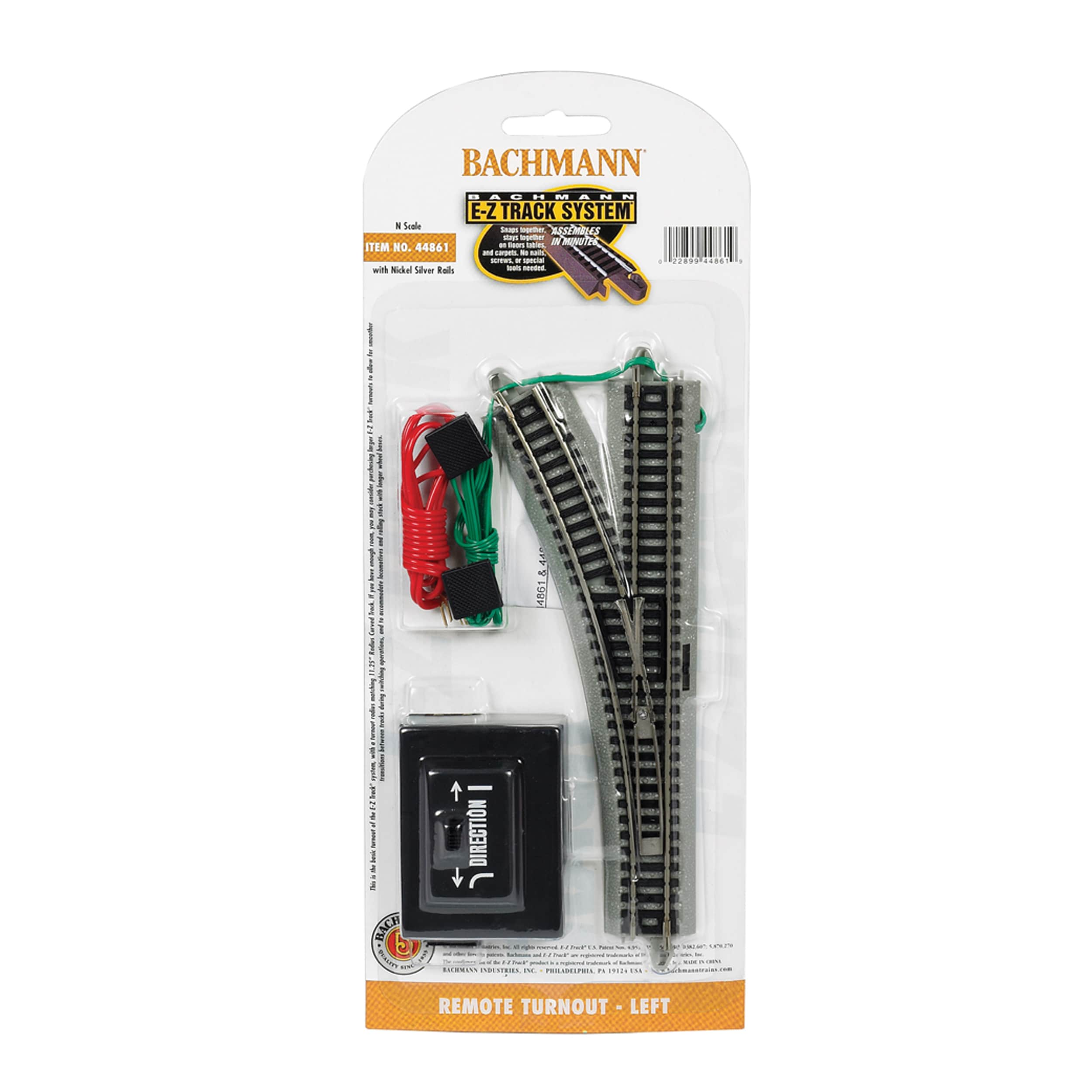 Bachmann Trains Remote Turnout - Left (1/Card) - N Scale ...