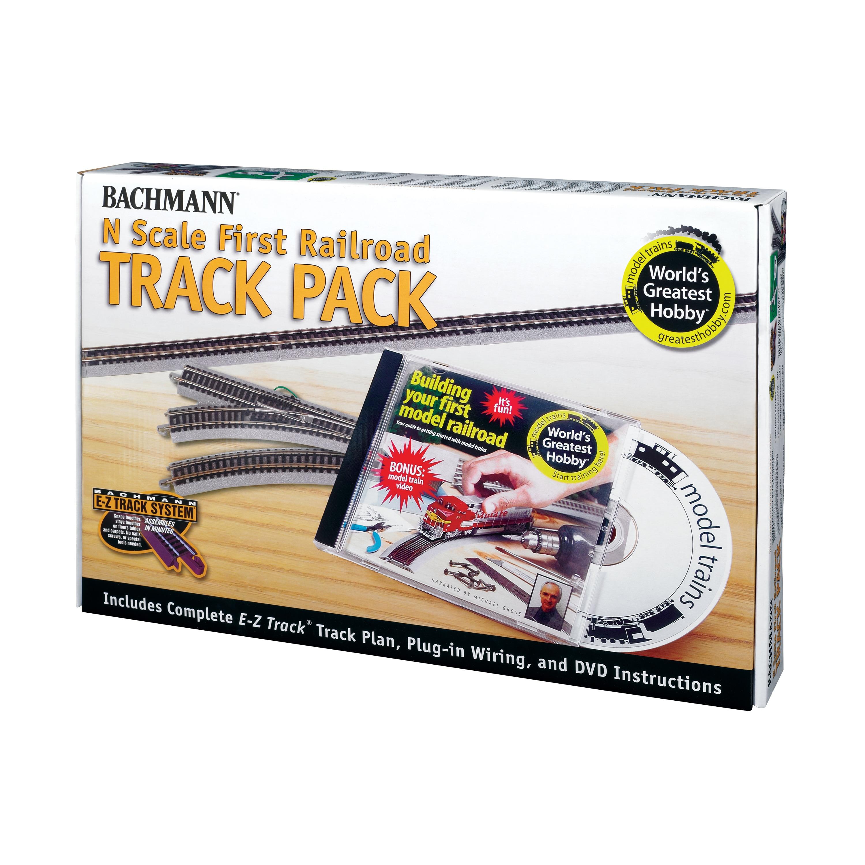 Bachmann Trains World's Greatest Hobby® Track Pack - N Sc...