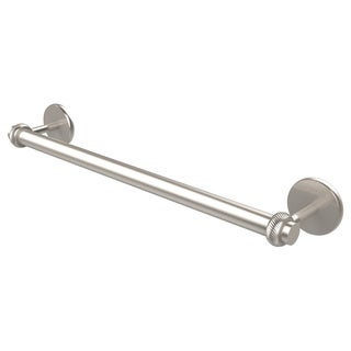 Allied Brass Satellite Orbit Two Collection 24 Inch Towel Bar with Twist Detail