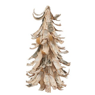 "12"" Birch Bark Cone Tree"