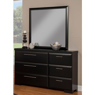 Sandberg Furniture Serenity 6-drawer Dresser and Mirror