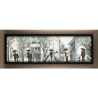 15-inch x 35-inch Anastasia C. Outdoor Walk Canvas Wall Art