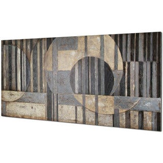 Abstract Sections 30-inch x 60-inch Oil Painting Wall Art