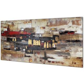 Collage Abstract Oil Painting Wall Art