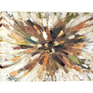 Starburst 38-inch x 48-inch Oil Wall Art