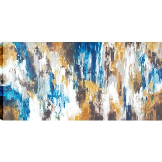Abstract Vibration 30-inch x 60-inch Oil Wall Art