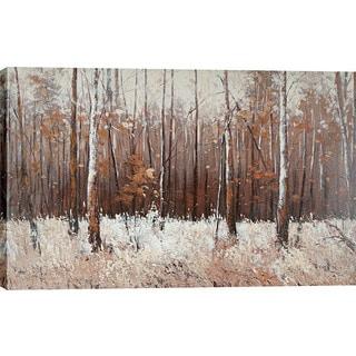 Hobbitholeco. 'Prairie's Edge' 40 x 60-inch Oil Wall Art