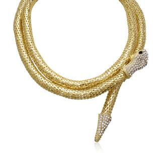 Adoriana Wrap Around Snake Necklace|https://ak1.ostkcdn.com/images/products/10606696/P17678550.jpg?impolicy=medium