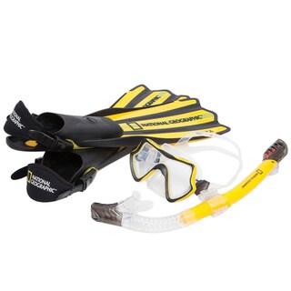 National Geographic VAYA Snorkel and Fin Set