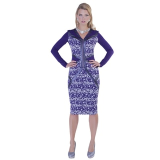 Kayla Collection Women's Bubble Dress