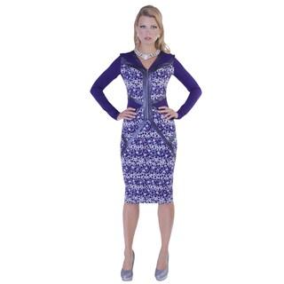 Kayla Collection Women's Bubble Dress