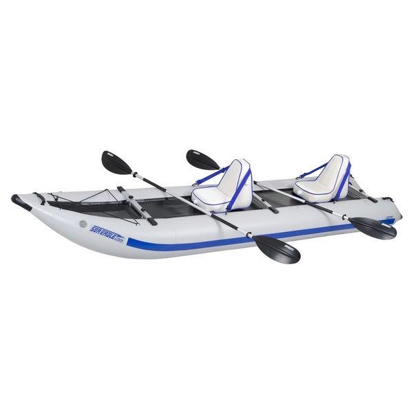 Sea Eagle PaddleSki Catamaran Inflatable Kayak 435PSK Deluxe