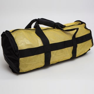 National Geo Clamshell Deluxe Drawstring 2 Pocket Duffle