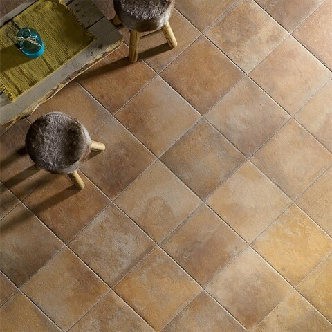 SomerTile 8.75x8.75-inch Suffolk North Porcelain Floor and Wall Tile (20 tiles/10.87 sqft.)