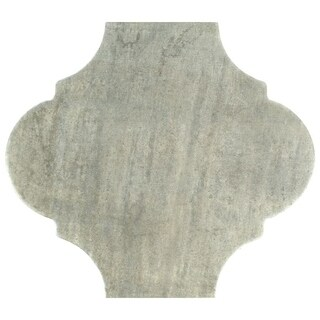 SomerTile 10.375x11.375-inch Fusio Provenzal Iron Porcelain Floor and Wall Tile (Case of 18)