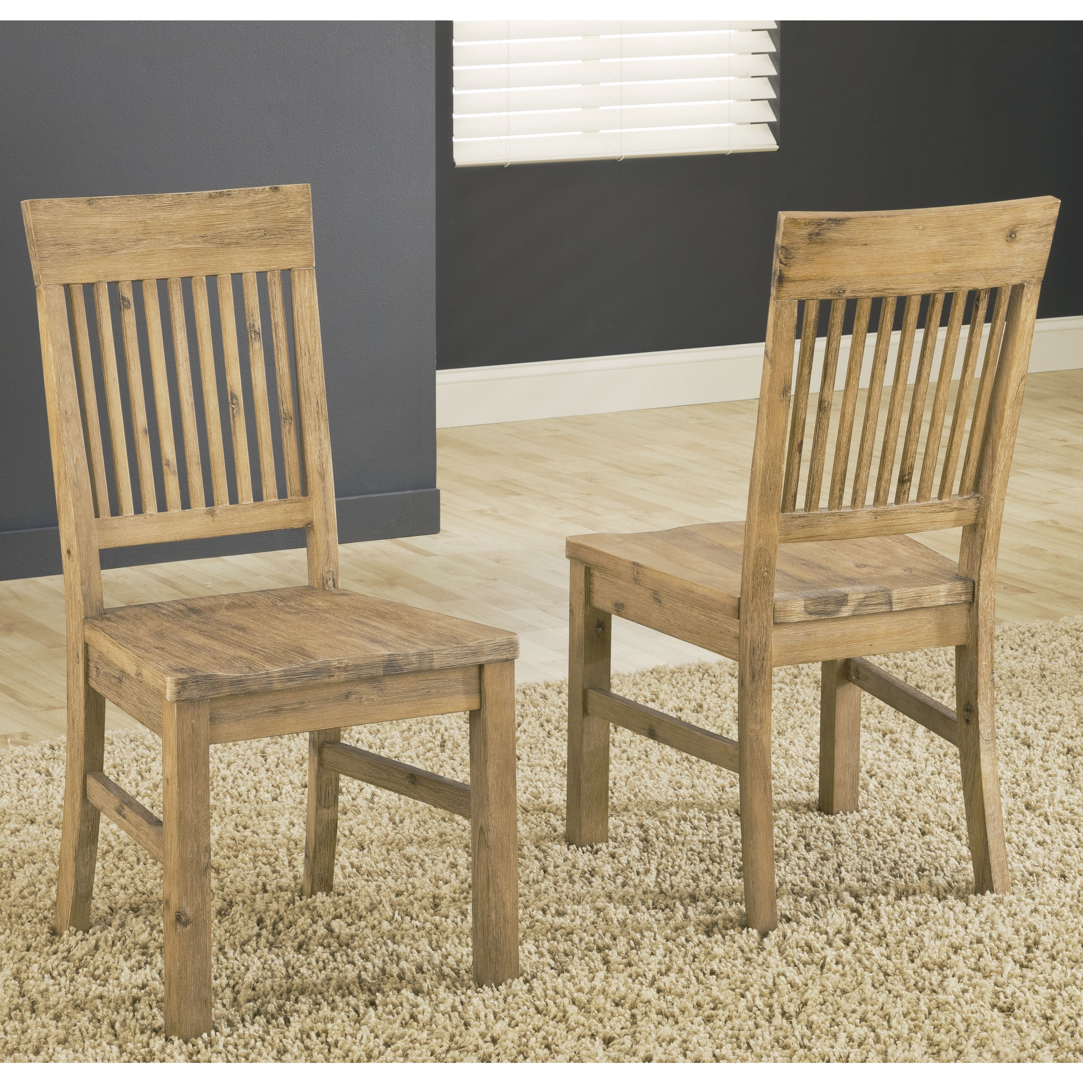 Autumn Solid Wood Dining Chairs (Set of 2) (Dining Seating)