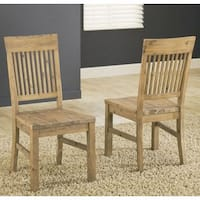 Autumn Solid Wood Dining Chairs (Set of 2)